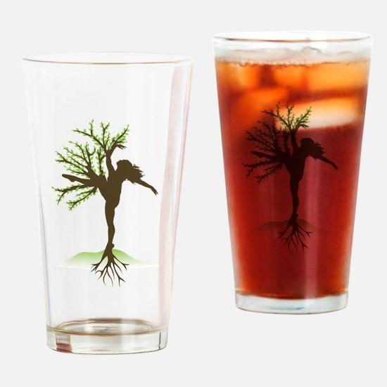 Dancing Tree Drinking Glass