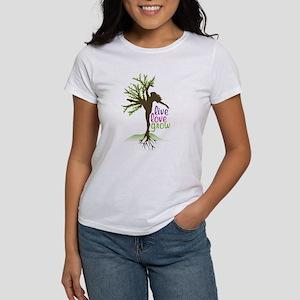 Live Love Grow Women's T-Shirt