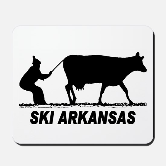 The Ski Arkansas Shop Mousepad