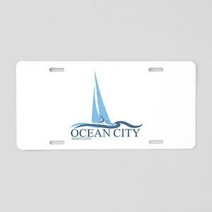 Ocean City MD - Sailboat Design. Aluminum License