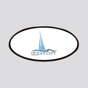 Ocean City MD - Sailboat Design. Patches