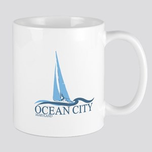 Ocean City MD - Sailboat Design. Mug