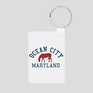 Ocean City MD - Ponies Design. Aluminum Photo Keyc