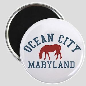 Ocean City MD - Ponies Design. Magnet