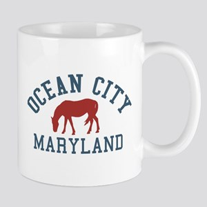 Ocean City MD - Ponies Design. Mug