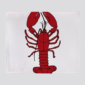 Red Lobster Throw Blanket