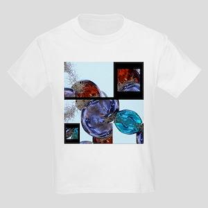 Layers of Glass Baubles Kids Light T-Shirt