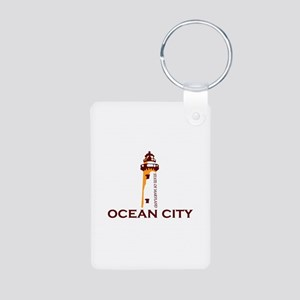 Ocean City MD - Lighthouse Design. Aluminum Photo
