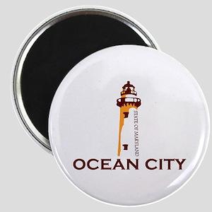 Ocean City MD - Lighthouse Design. Magnet