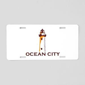 Ocean City MD - Lighthouse Design. Aluminum Licens