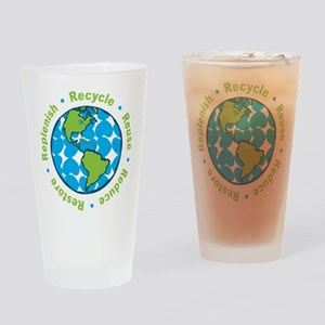 Five Rs Drinking Glass