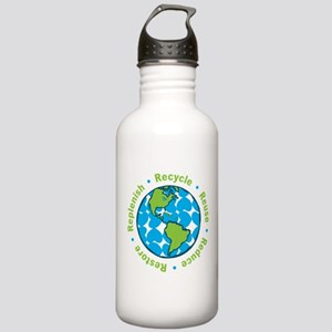 Five Rs Stainless Water Bottle 1.0L
