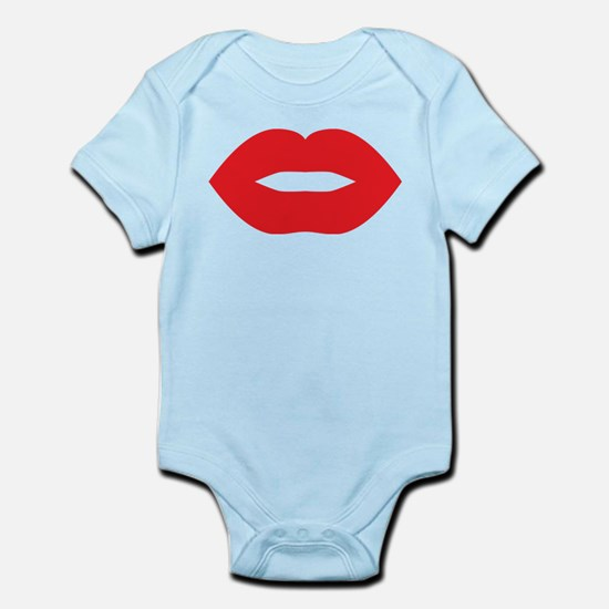 Red Hot Lips Infant Bodysuit