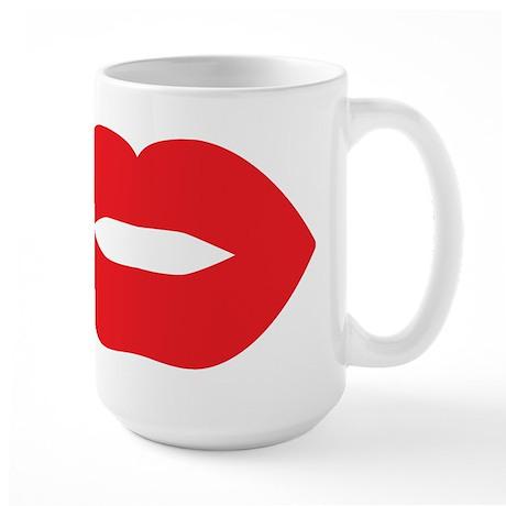 Red Hot Lips Large Mug