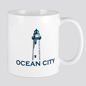 Ocean City MD - Lighthouse Design. Mug