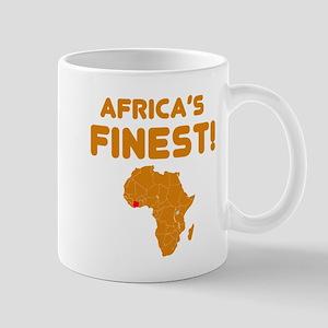 Cote D Ivoire map Of africa Designs Mug