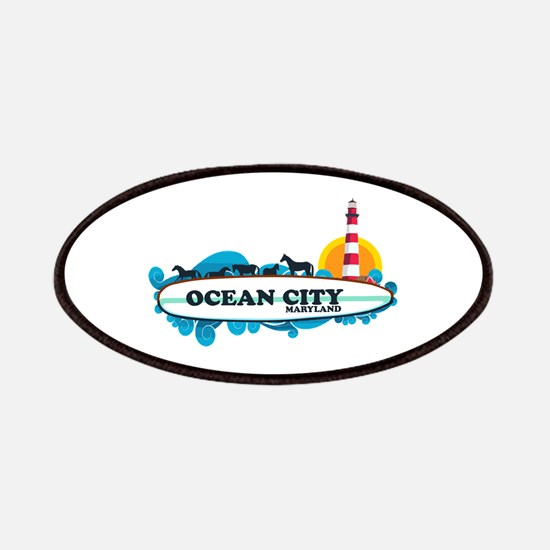Ocean City MD - Surf Design. Patches