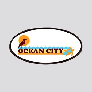 Ocean City MD - Beach Design. Patches