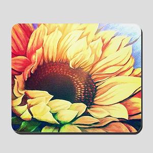 Festive Sunflower Mousepad