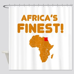 Egypt map Of africa Designs Shower Curtain