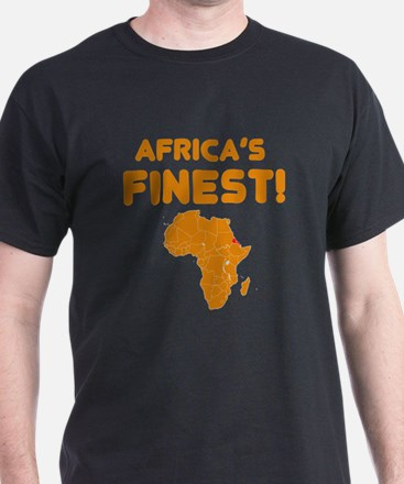 Eritrea map Of africa Designs T-Shirt