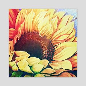 Festive Sunflower Queen Duvet