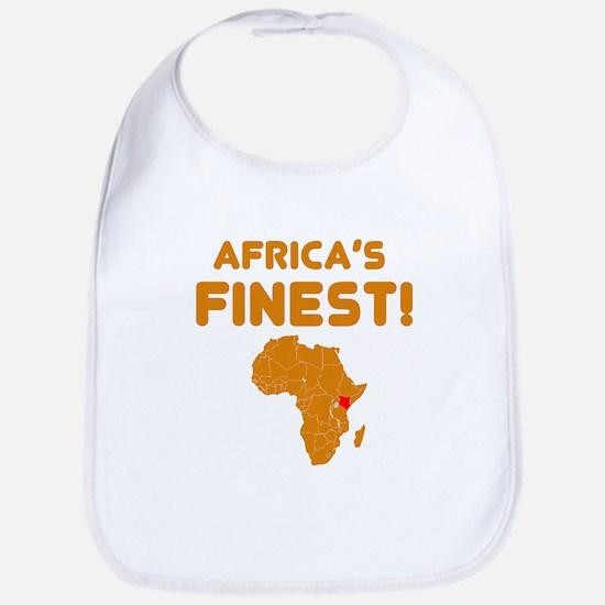 Kenya map Of africa Designs Bib