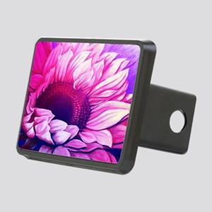 Sunflower Passion Rectangular Hitch Cover