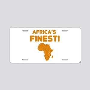 Lesotho map Of africa Designs Aluminum License Pla