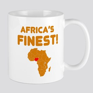 Nigeria map Of africa Designs Mug