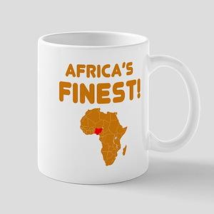 Nigeria map Of africa Designs Mug