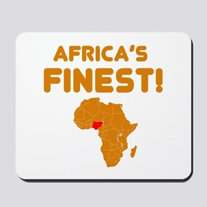 Nigeria map Of africa Designs Mousepad