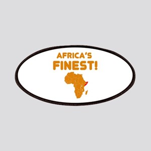 Somalia map Of africa Designs Patches
