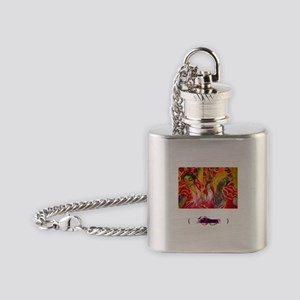 Flamenco, Flask Necklace