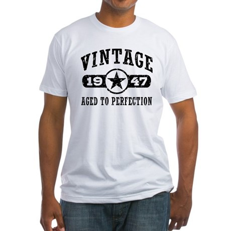 Vintage 1947 Fitted T-Shirt