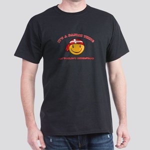 Danish Smiley Designs Dark T-Shirt
