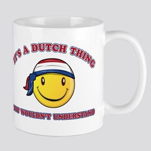 Dutch Smiley Designs Mug