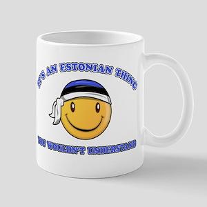Estonian Smiley Designs Mug