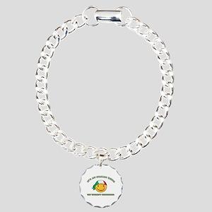 Italian Smiley Designs Charm Bracelet, One Charm