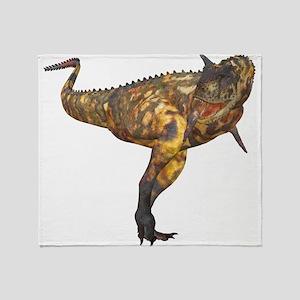 Carnotaurus Throw Blanket