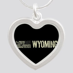 Black Flag: Wyoming Silver Heart Necklace