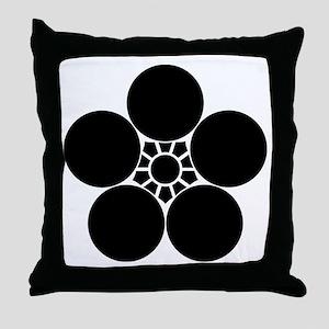 Umebachi Throw Pillow