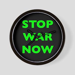Stop War Now e9 Wall Clock