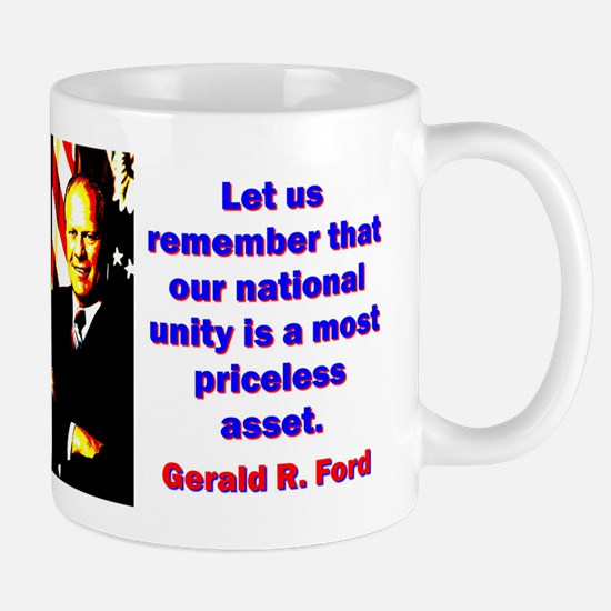 Let Us Remember - Gerald Ford Mug