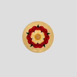 Tudor Rose Mini Button