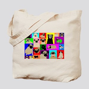 Lots o Pugs Tote Bag