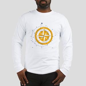 T compass front Long Sleeve T-Shirt