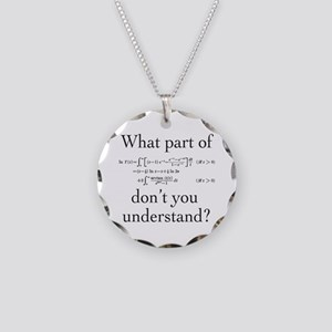 What Part of... Necklace Circle Charm