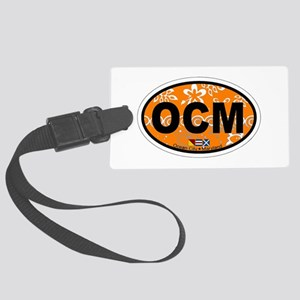 Ocean City MD - Oval Design. Large Luggage Tag