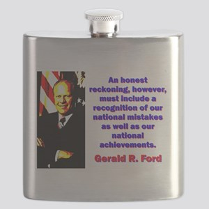 An Honest Reckoning - Gerald Ford Flask